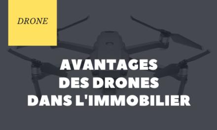 Avantages des drones dans l'immobilier
