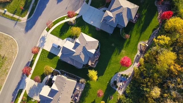 photographie maison drone
